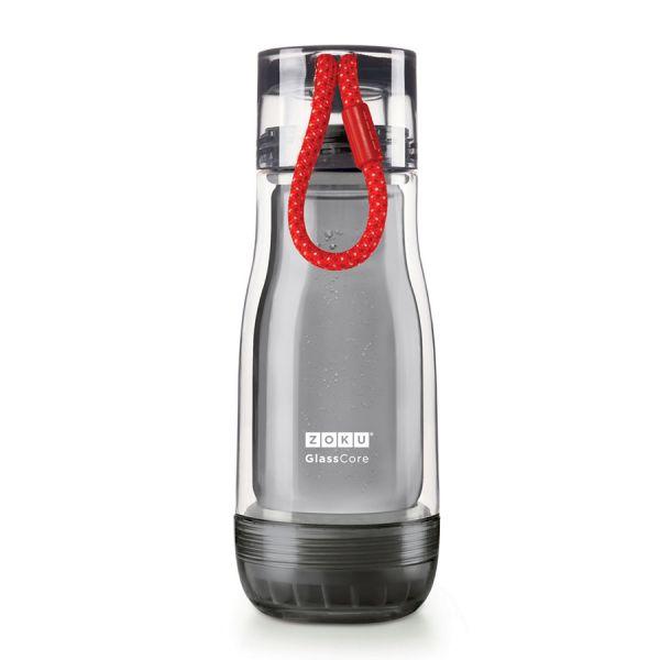 Бутылка Zoku active 325 мл красная ZK129-AC-RD