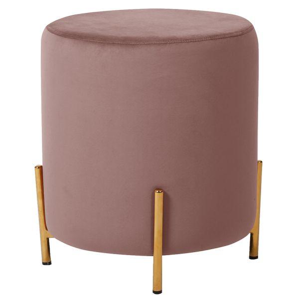 Пуф berg, jerome 39х43 см, розовый BEPO-JEG06223