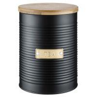 Емкость для хранения чая Otto черная 1,4 1401.148V