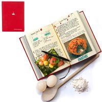 Семейная кулинарная книга My Family красная SK MYRECIPES1