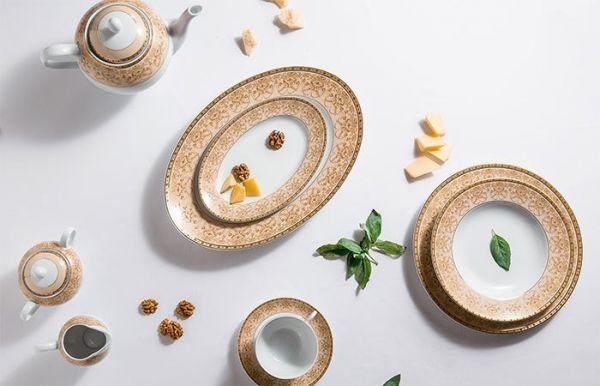 Чаша Tunisie Porcelaine Tiffany Or 14 см 6403914 1785